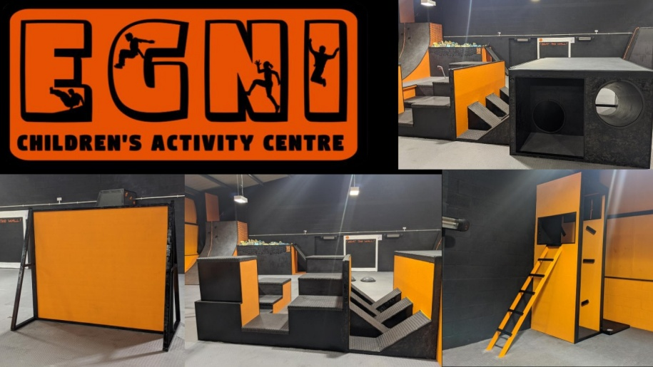 Obstacles at Egni Children's Activity Centre