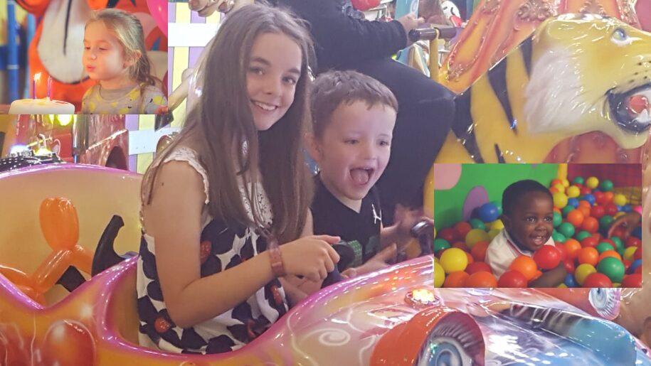 girl and boy having a party at Gambardo