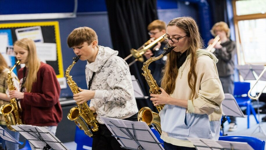 Young musicians in Norfolk