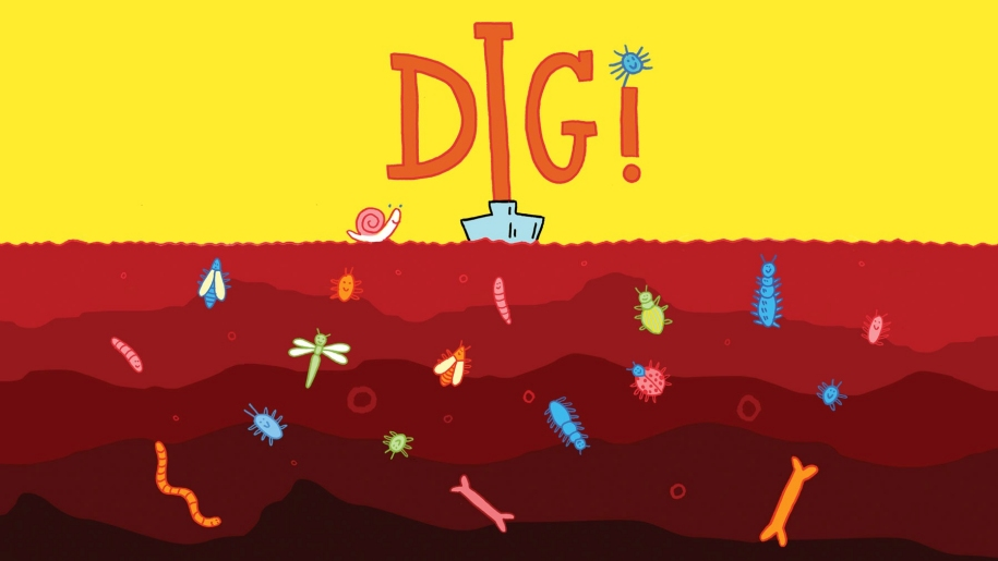 Theatre poster for Dig! at Yvonne Arnaud Theatre