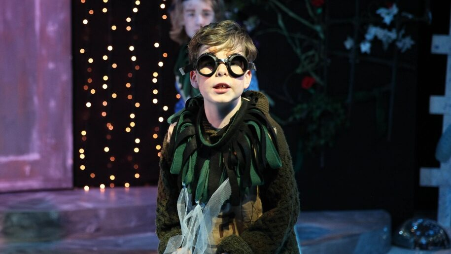 Scene from The Snow Queen at Yvonne Arnaud Theatre