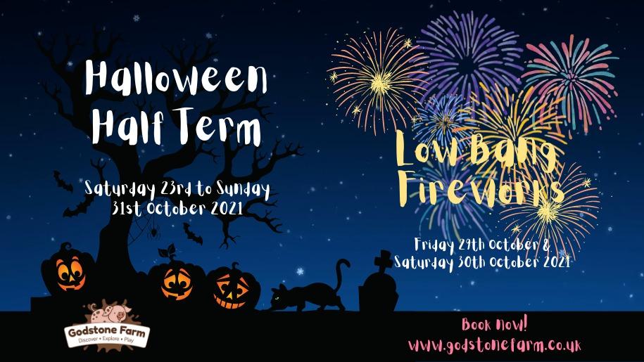 Godstone Farm - Halloween 2021 with low bang fireworks