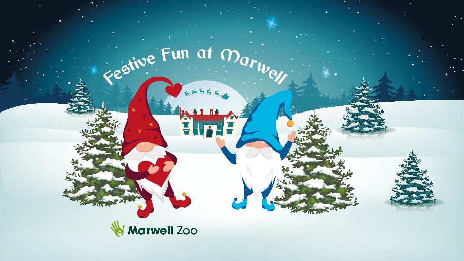 Marwell Zoo Christmas 2021 Dwarves