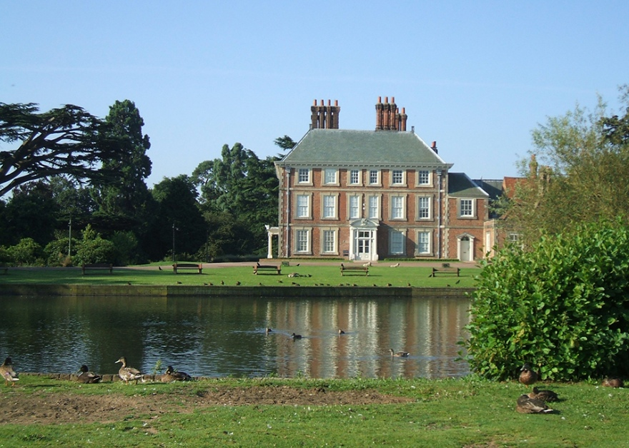 Forty Hall and gardens