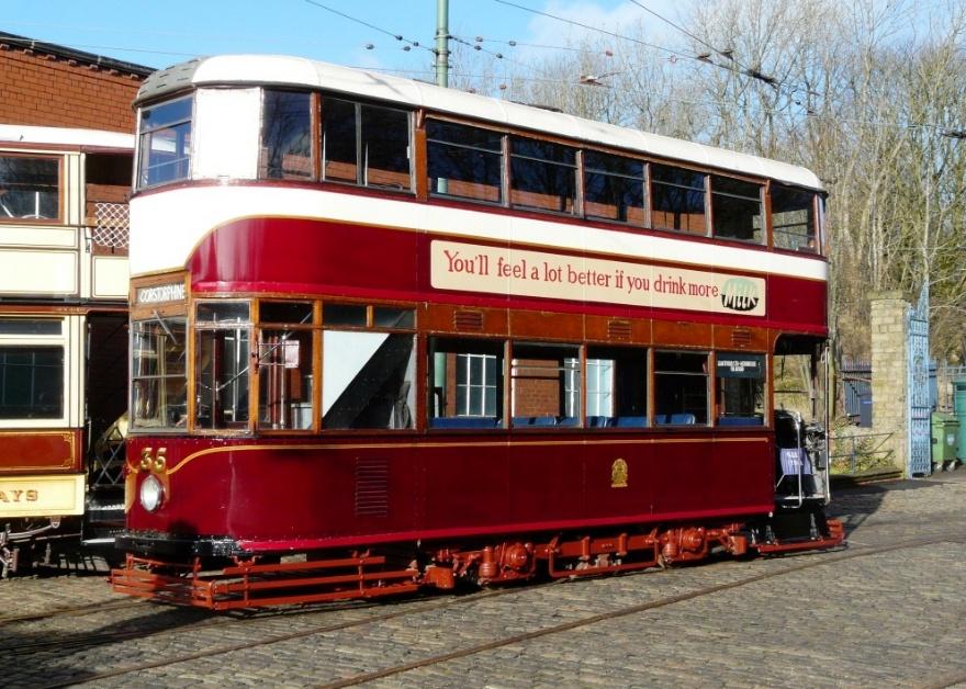 Crich Tramway tram