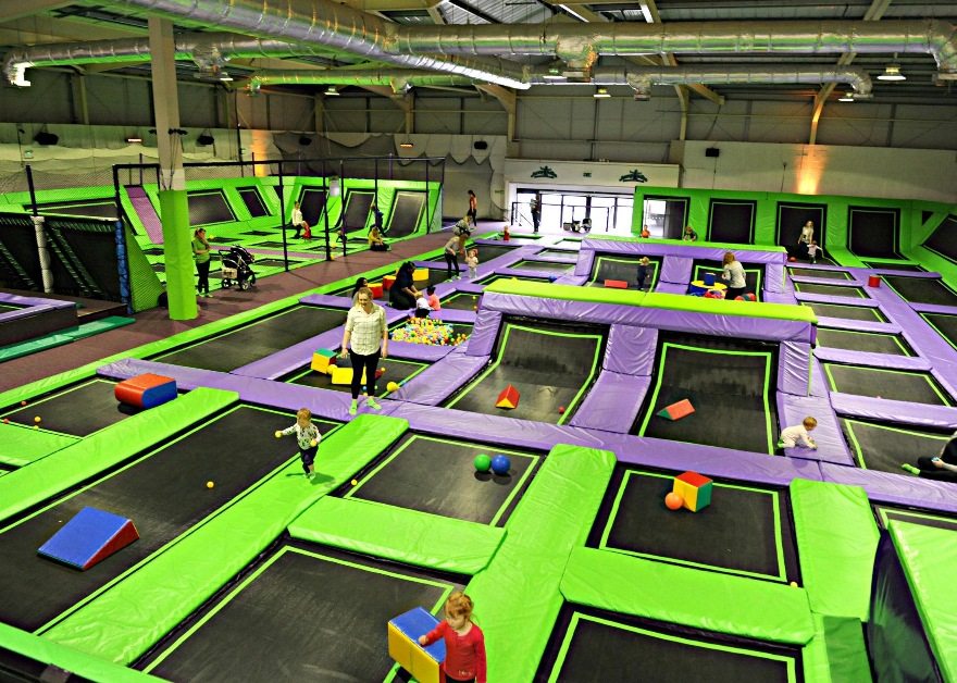 Jumptastic Trampoline Park Gloucester Places To Go